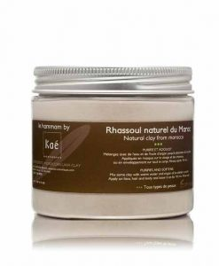 Rhassoul blanc naturel 200 gr. (natural white clay from morocco)